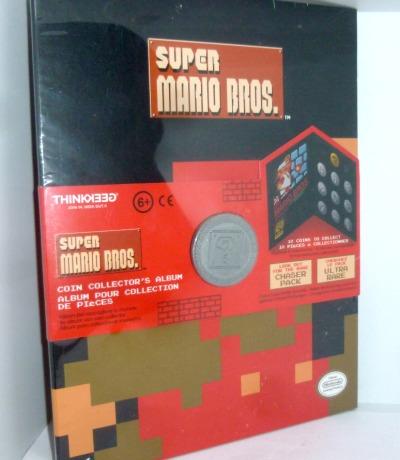 Super Mario Bros Münze Coin Sammelmappe
