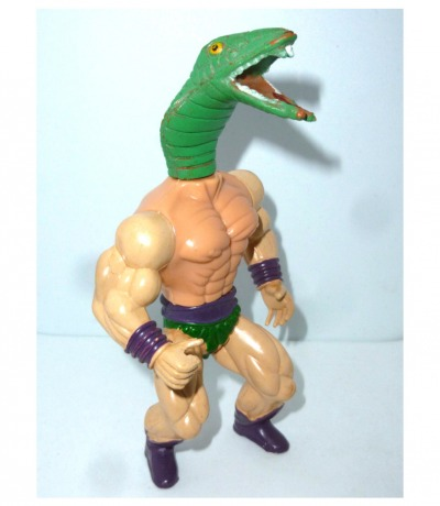 Snake / Cobra - Galaxy Fighter/Warrior/Combo/Muscle Actionfigur