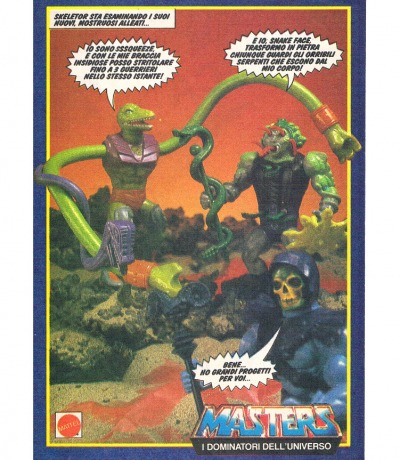 Masters of the Universe Sssqueeze Snakeface
