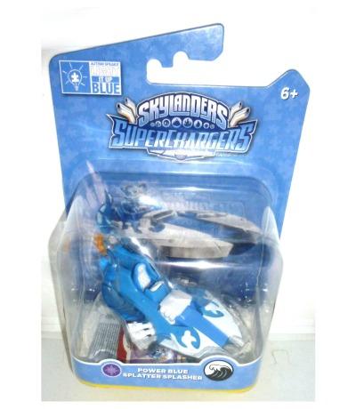 Power Blue Splatter Splasher OVP MOC