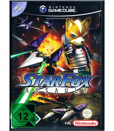 Star Fox Assault - Nintendo GameCube