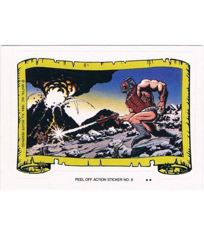 Zodac Sticker von Topps Masters of