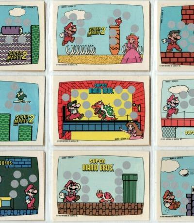Super Mario Bros - Trading Cards