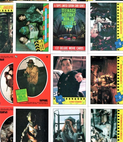Movie Trading Cards Sticker Teenage Mutant