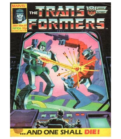 The Transformers - Comic Nr/No 106