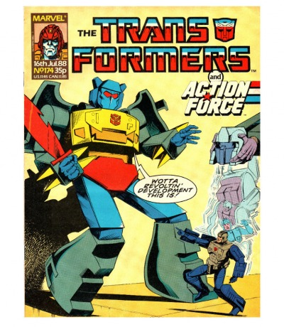 The Transformers - Comic - Generation 1 / G1 - 1988 174 - Englisch