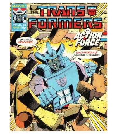The Transformers - Comic Nr/No 173