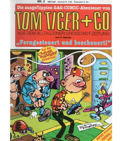 Tom Tiger Co - Comic - Nr. 2 - Francisco Ib ñez
