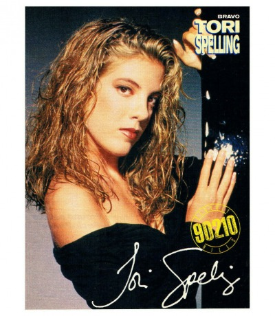 Tori Spelling Beverly Hills Mini Poster