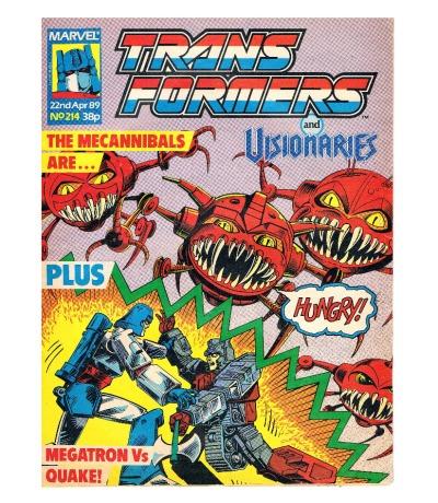 The Transformers - Comic Nr/No 214