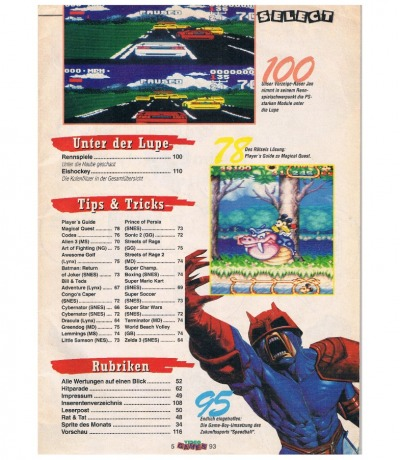 Video Games 5/93 1993