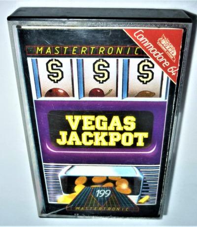 Vegas Jackpot - Kassette - C64 / Commodore 64