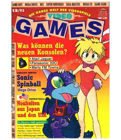 Video Games - issue 12/93 1993