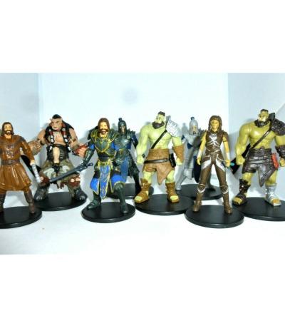 Warcraft - 8 Mini Figuren