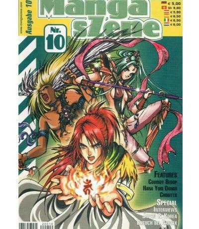 Manga sZene Magazin Nr10 Anime Manga