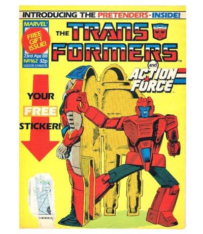 The Transformers - Comic Nr/No 162