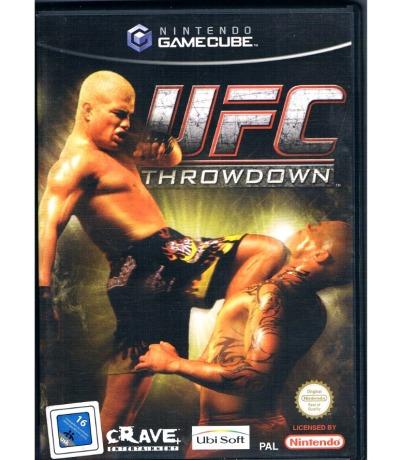 UFC Throwdown - Nintendo GameCube