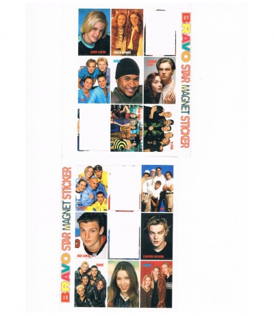 BRAVO stickers from 1998 98