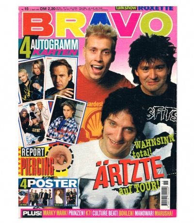 BRAVO Nr15 94 Roxette Culture Beat