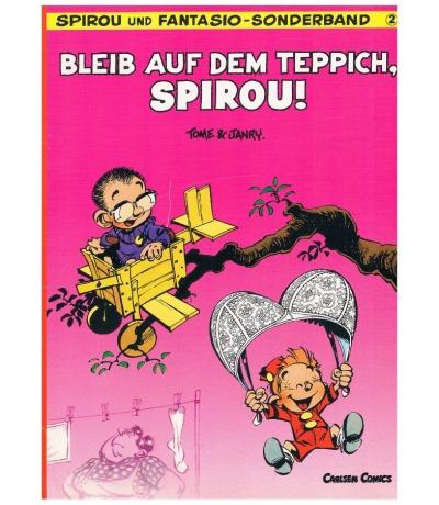 Bleib auf dem Teppich Spirou Comic