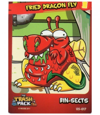 Fried Dragon Fly Bin-Sects The Trash