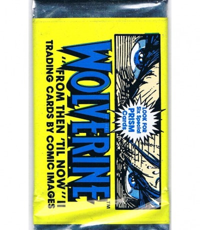 1x Trading Cards Packung Wolverine From
