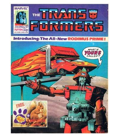 The Transformers - Comic Nr/No 114