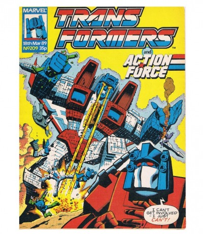 The Transformers - Comic Nr/No 209