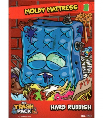 Hard Rubbish Moldy Mattress The Trash