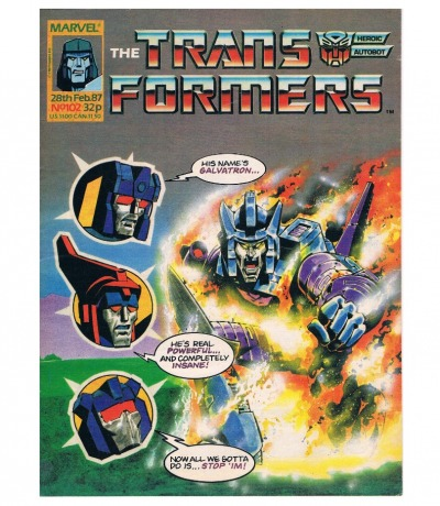 The Transformers - Comic Nr/No 102