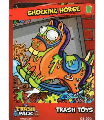 Shocking Horse Trash Toys The Trash