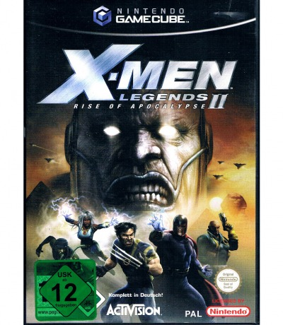 Nintendo GameCube X-Men Legends II Rise
