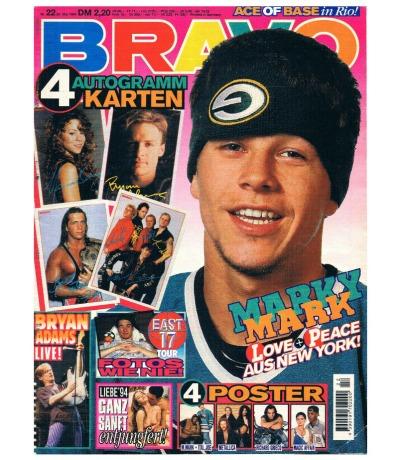 BRAVO Nr22 Komplett Heft Magazin Marky