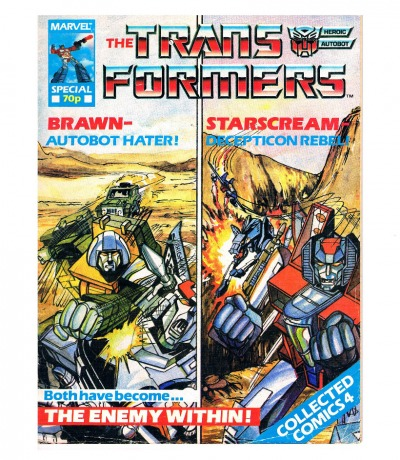 The Transformers Comic Generation G1 Special