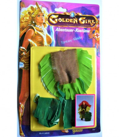 Golden Girl and the Guardians of the Gemstones - Fantasy Kleider - 1984 Galoob