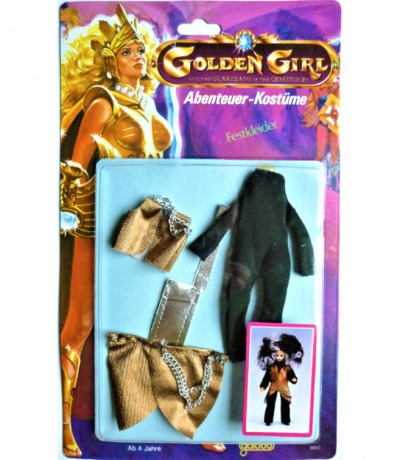 Golden Girl and the Guardians of the Gemstones - Festkleider - 1984 Galoob