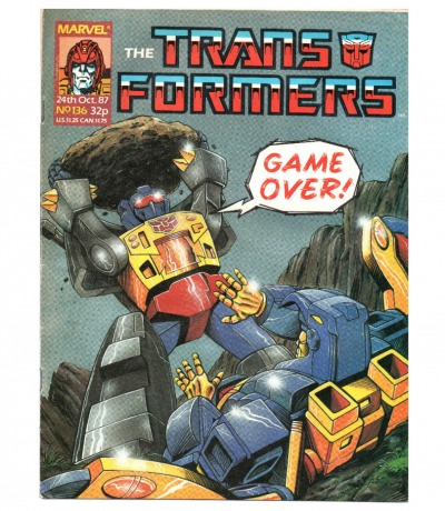 The Transformers Comic Generation G1 Oct