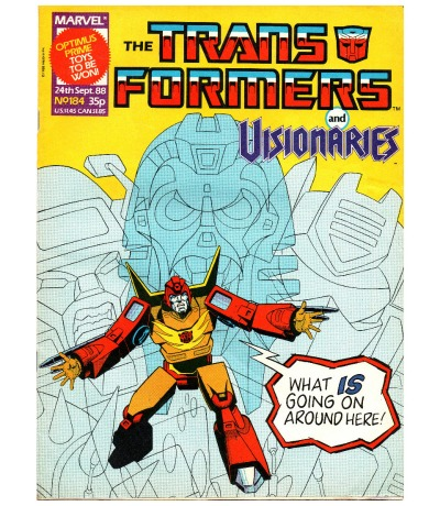 The Transformers Comic Generation G1 Englisch