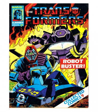 The Transformers Comic Nr/No Summer Special