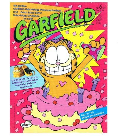 Garfield Comic - Heft Ausgabe 6-93