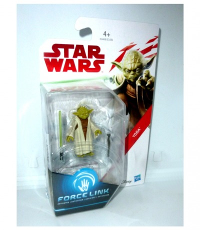 Yoda Star Wars FORCE LINK Actionfigur