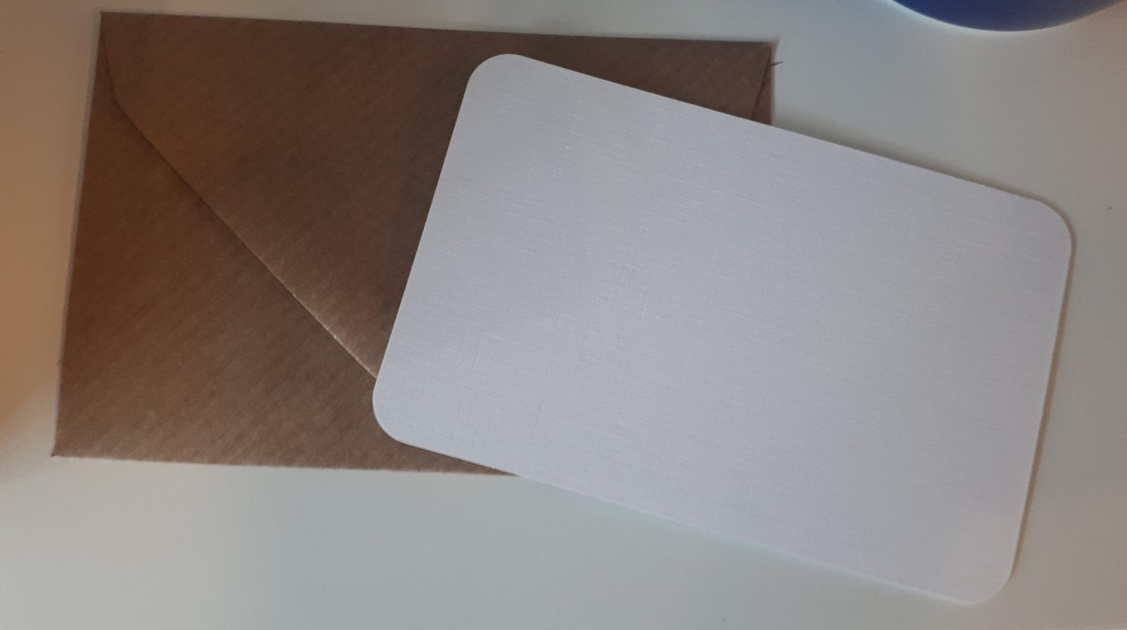 Mini-Karte Hochzeit Visitenkartenformat MK-07 3