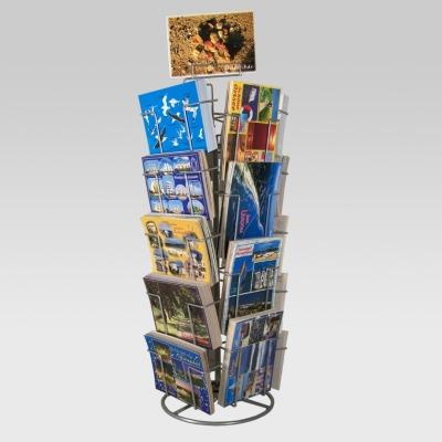 Postkartenständer Tischständer mit Fächern für Postkarten