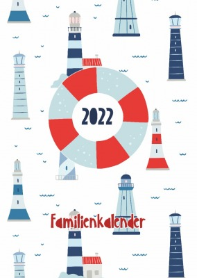 Familienplaner A3 Maritim - erscheint August