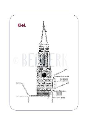 Postkarte Kiel PK-38
