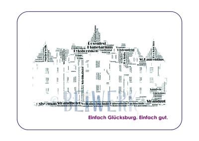 Postkarte Glücksburg