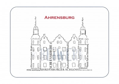 Postkarte Ahrensburg Schloss PK-251