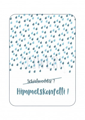 Postkarte Himmelskonfetti PK-187