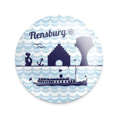 Magnet-Flaschenöffner Flensburg maritim
