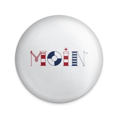 Button Moin Buchstaben